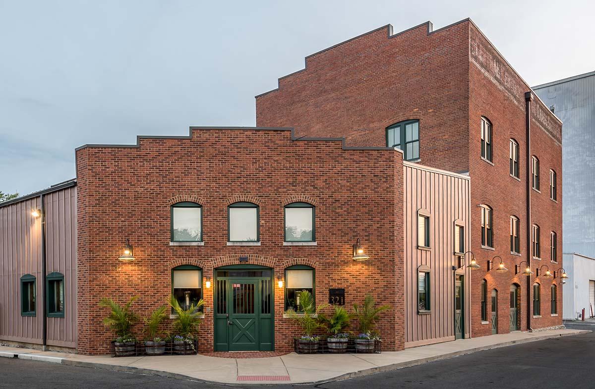 BC Wood Properties building exterior